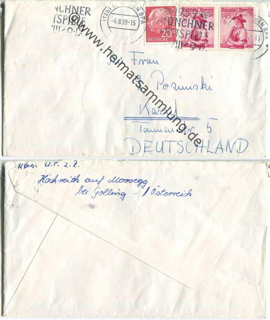 Brief Oesterreich Nach Deutschland : Briefe deutschland