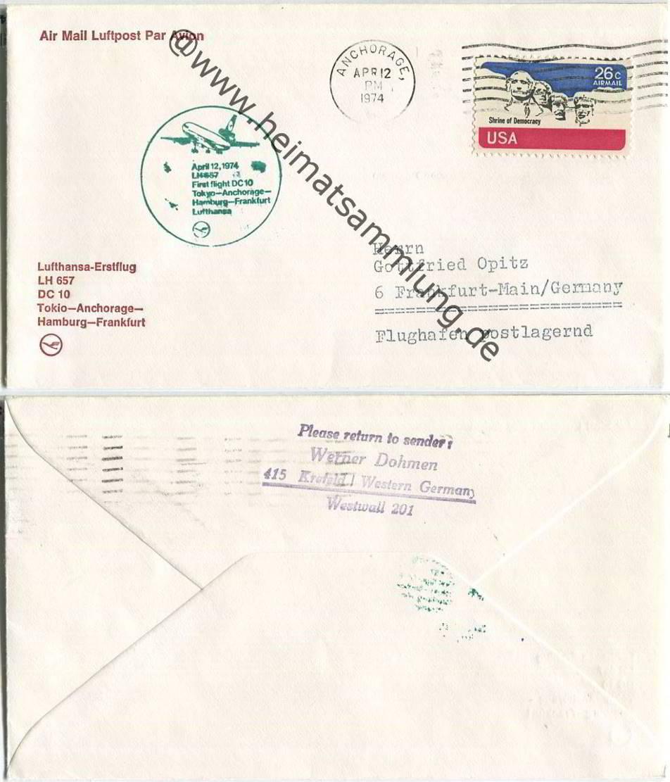 Persönliche Briefe Usa : Briefe international