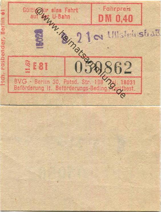 kosten bvg ticket