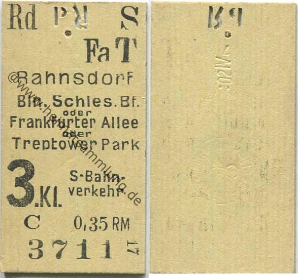 historische fahrkarten alte fahrscheine s bahn berlin 02. Black Bedroom Furniture Sets. Home Design Ideas
