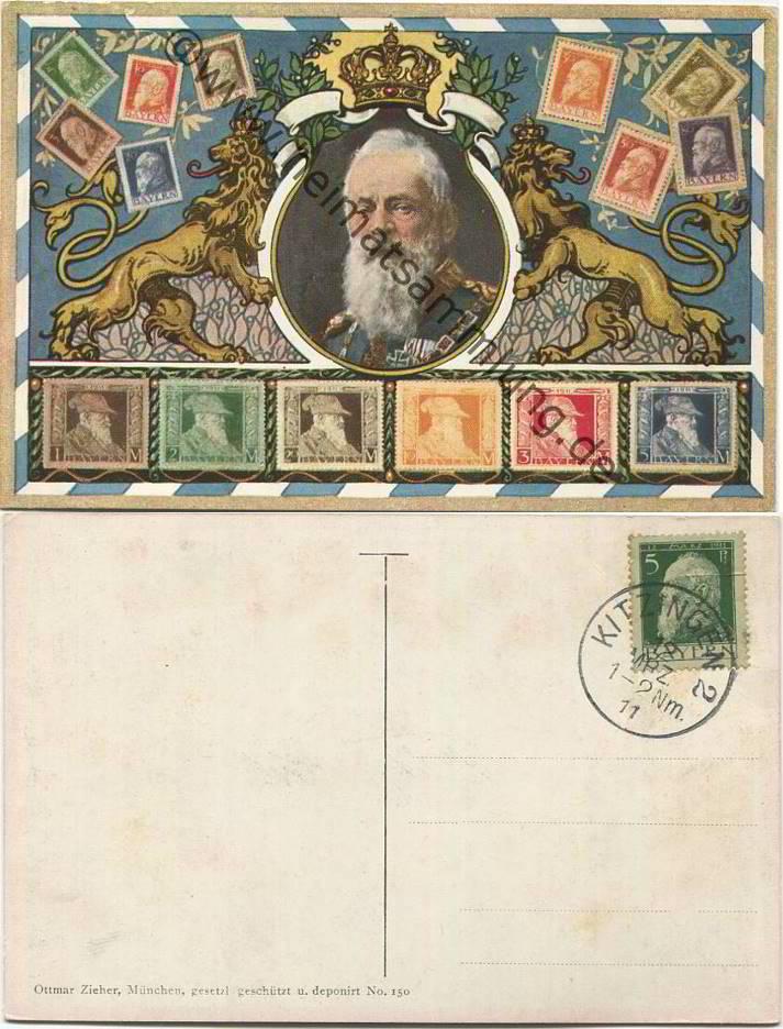 Historische ansichtskarten briefmarken - Blanko postkarten ...