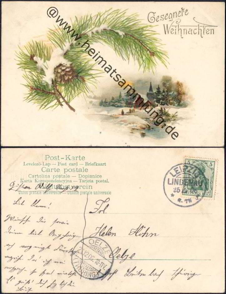 historische ansichtskarten gl ckwunsch weihnachten 01