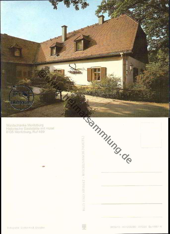 Historische-Ansichtskarten-Moritzburg