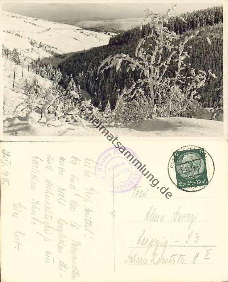 Historische Ansichtskarten Oberwiesenthal