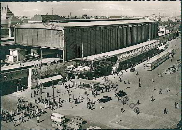 Historische Ansichtskarten Berlin Charlottenburg Bahnhof