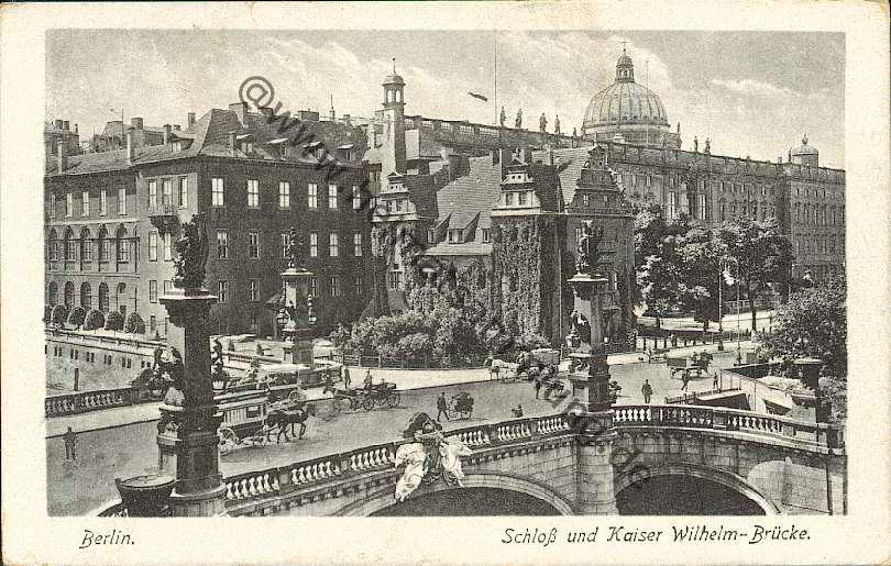 Kaisers Karlshorst historische ansichtskarten berlin mitte brücken 02