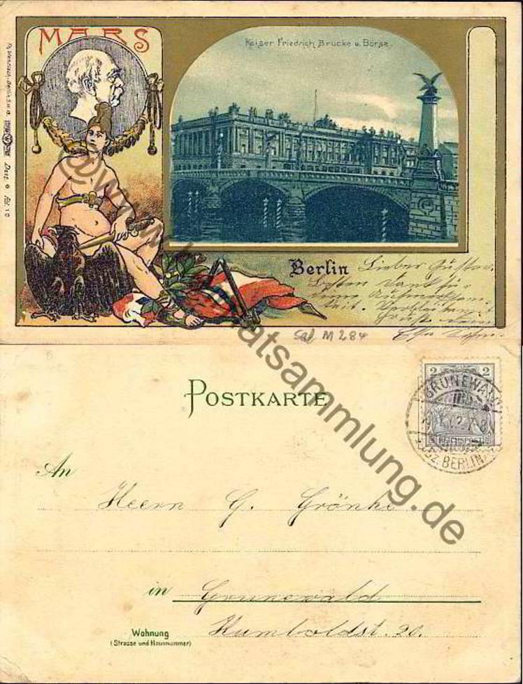 Historische ansichtskarten berlin mitte b rse - Stempel berlin mitte ...