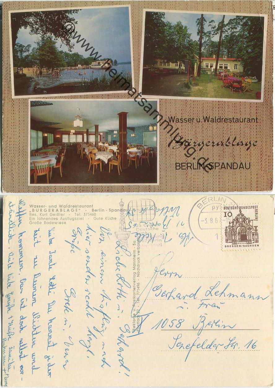 historische ansichtskarten berlin spandau 01. Black Bedroom Furniture Sets. Home Design Ideas