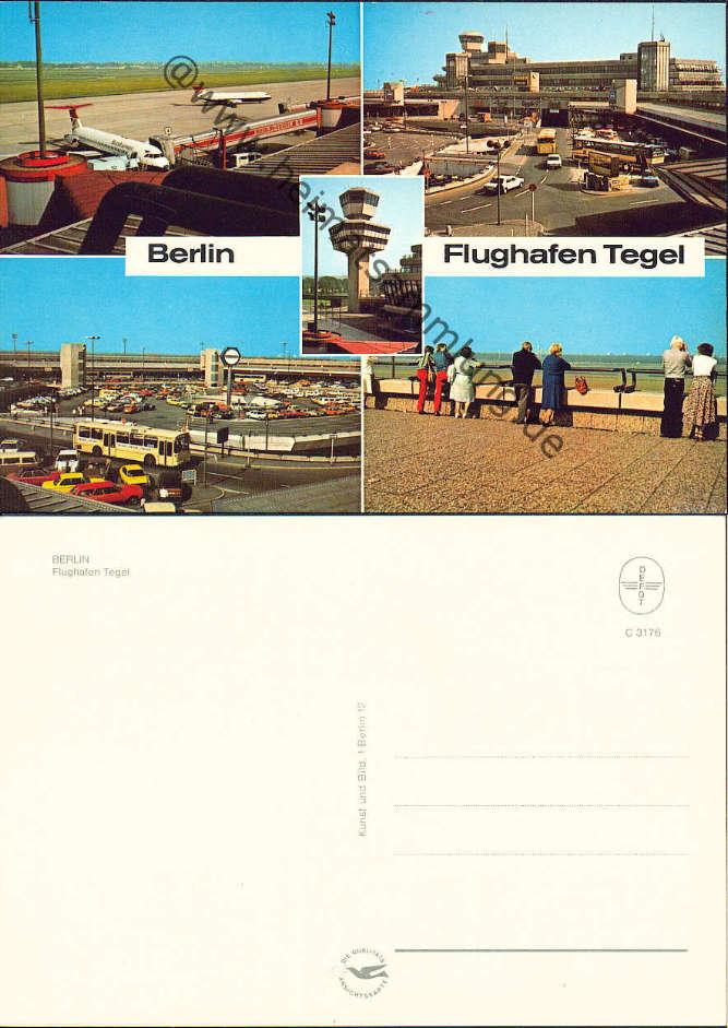 Historische ansichtskarten berlin tegel flughafen for Flughafen tegel