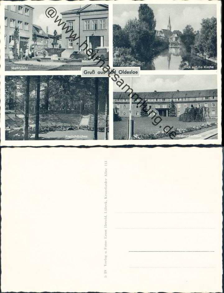 historische ansichtskarten bad oldesloe. Black Bedroom Furniture Sets. Home Design Ideas