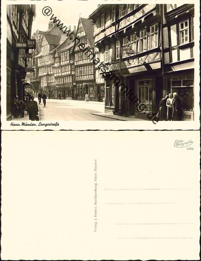 Historische Ansichtskarten Hannoversch M Nden