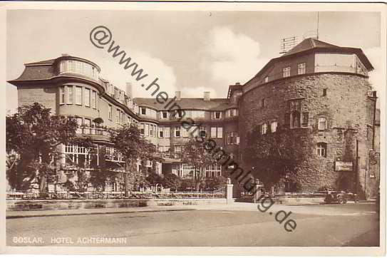 hotel achtermann goslar