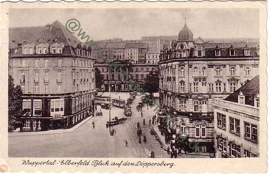 Historische ansichtskarten wuppertal 01 for Hotel wuppertal elberfeld
