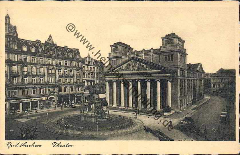 Bad Aachen historische ansichtskarten aachen 01