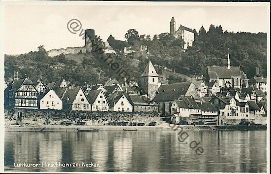 Whore Hirschhorn (Neckar)