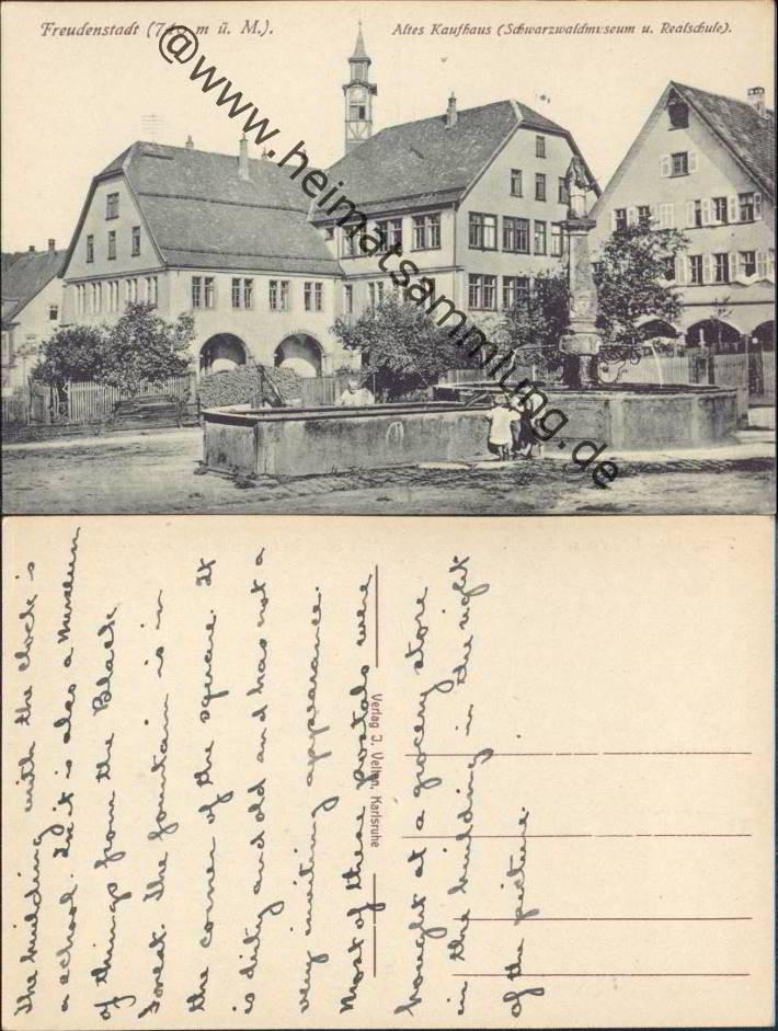 Historische Ansichtskarten Freudenstadt 03