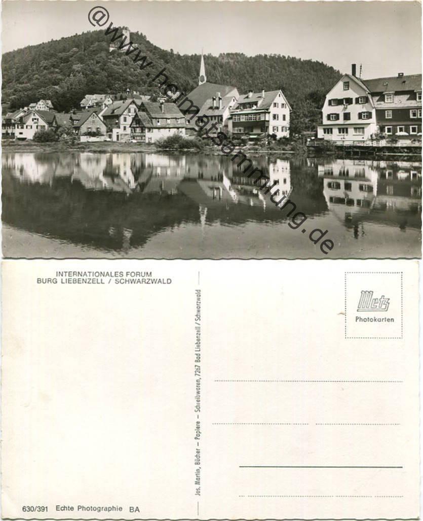 Postkarte Baden-württemberg Bad Liebenzell Deutschland