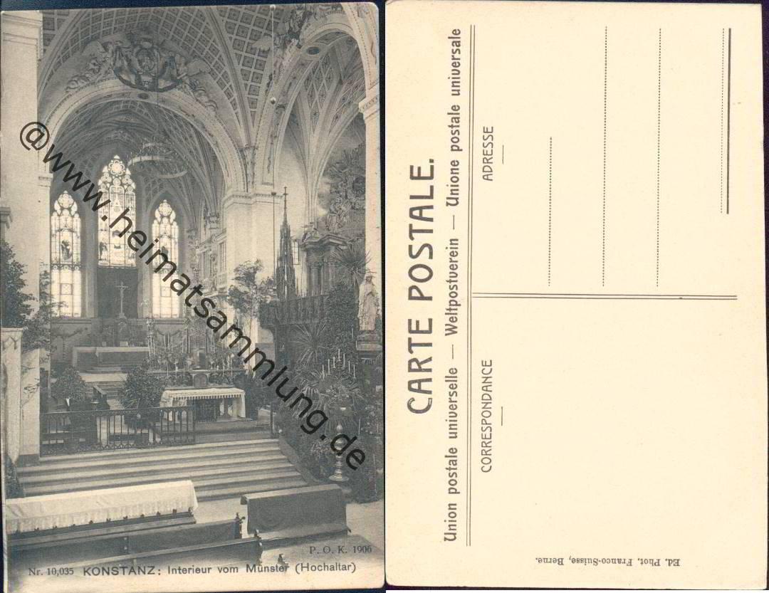 Historische ansichtskarten konstanz 03 for Interieur verlag