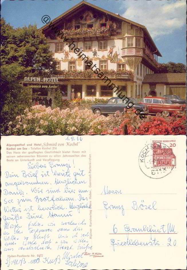 Hotel Post Kochel Am See