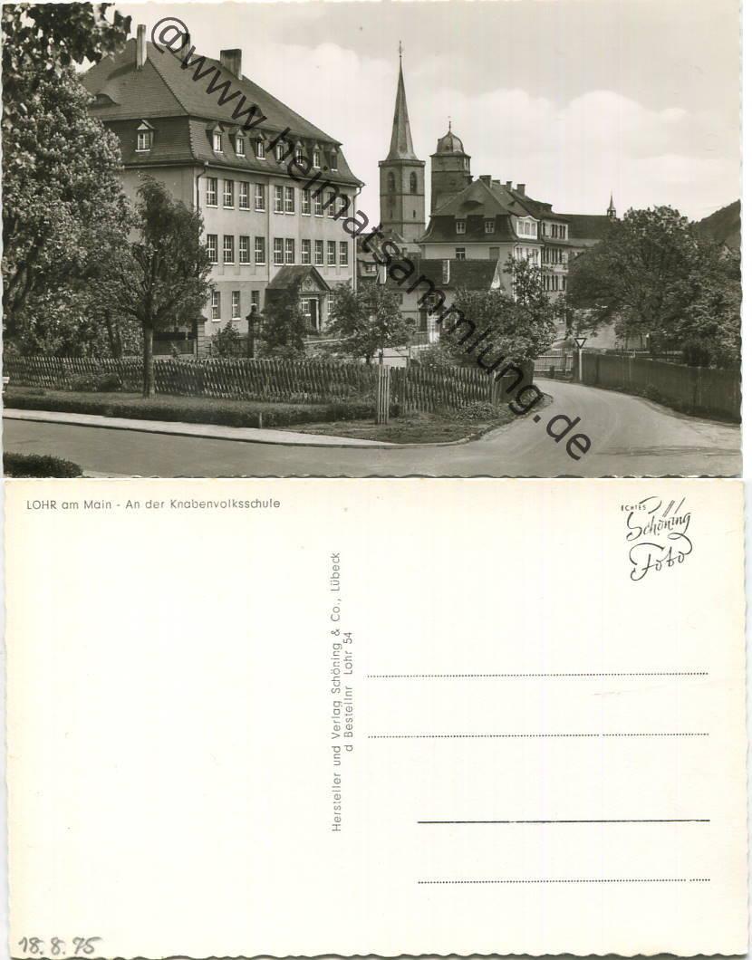 Historische ansichtskarten lohr for Heimbach lohr am main