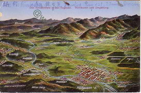 Mulhouse Frankreich cartes postales anciennes departement haut rhin mulhouse