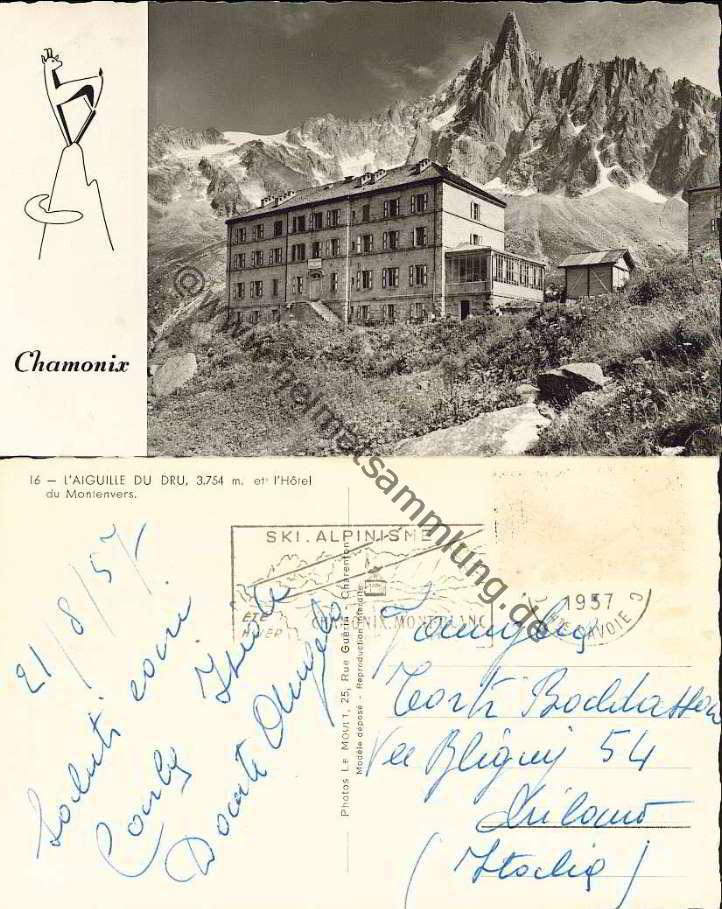 cartes postales anciennes france departement haute savoie chamonix 01. Black Bedroom Furniture Sets. Home Design Ideas