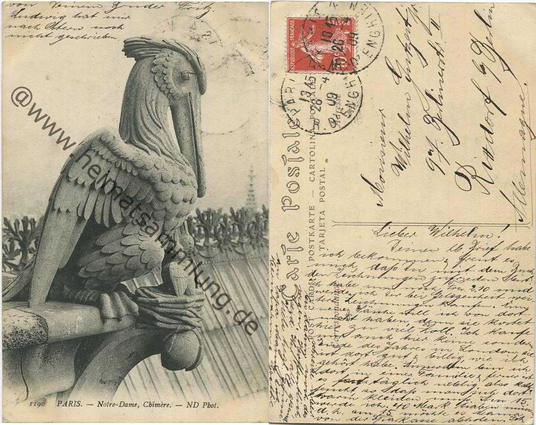 Cartes Postales Anciennes France Departement Paris 03