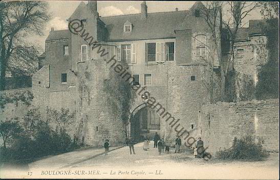 Cartes postales anciennes france departement pas de calais for Porte de garage boulogne sur mer