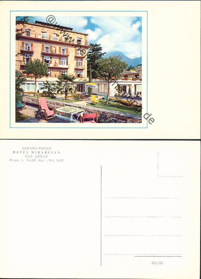 historische ansichtskarten italien s dtirol meran merano 03. Black Bedroom Furniture Sets. Home Design Ideas