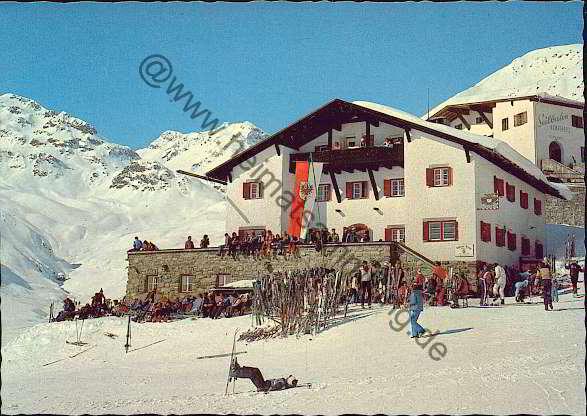 Historische Ansichtskarten Tirol Serfaus
