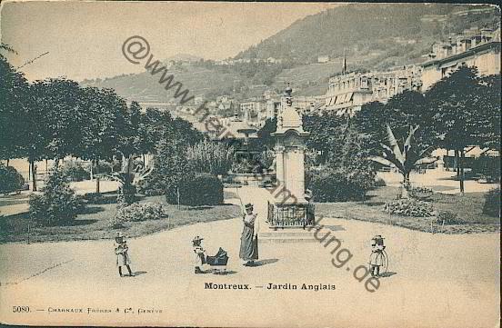 Historische ansichtskarten kanton waadt montreux 01 for Jardin anglais neuchatel